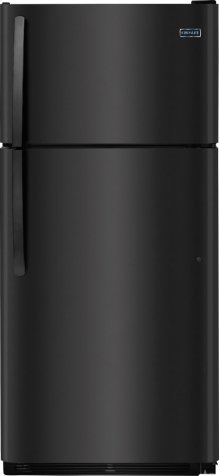 Crosley Top Mount Refrigerator : Top Mount Refrigerator - Black
