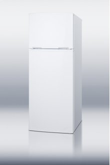"Two-door refrigerator-freezer with cycle defrost in slim 21 ½"" width; replaces CP97R"