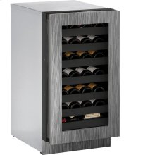 "18"" 3000 Series Wine Captain, Right Hand Door, Integrated Frame"