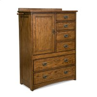 Bedroom - Oak Park Chest with Doors Product Image