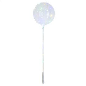 Balloon with Multi-Color LED String Lights w/ Stick and Handle (12 pc. ppk.)
