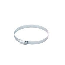 Smart Choice Galvanized 4'' Wormgear Clamp