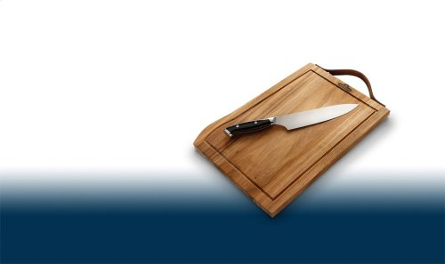 Premium Cutting Board and Knife Set