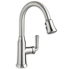 Polished Chrome Portsmouth Single- Control Pull- Down Kitchen Faucet