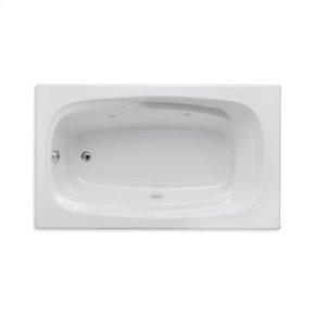 """Easy-Clean High Gloss Acrylic Surface, Rectangular, Whirlpool Bathtub, 36"""" X 60"""""""