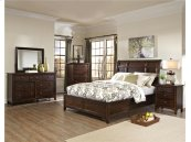Intercon Bedroom Jackson Sleigh King Bed-Standard FB