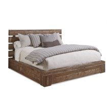 Epicenters Williamsburg King Platform Storage Bed