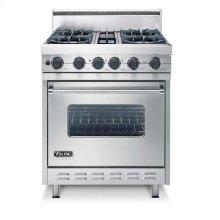 "30"" Open Burner, Dual Fuel Range - VDSC (30"" wide range with four burners, single oven)"