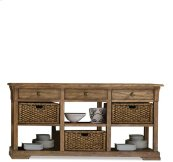 Sherborne Buffet Toasted Pecan finish