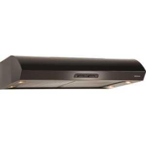"Broan 300 CFM 30"" wide Undercabinet Range Hood in Black"