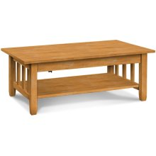 Mission Lift-Top Coffee Table