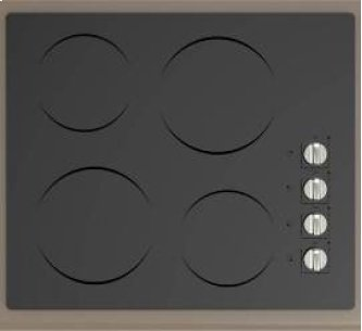 "24"" Built-In CleanDesign Electric Cooktop"