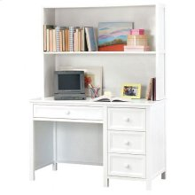 Woodland White Desk/Hutch