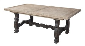 Dining Extension Table Kit-top(stretcher for Base In Top Ctn) & Base