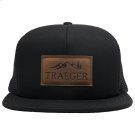Black Adjustable Trucker Hat Product Image