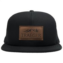 Black Adjustable Trucker Hat