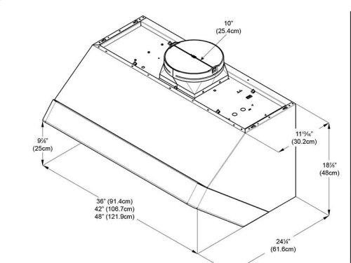 "Optional Chimney Extension Kit 6"" for 36"""
