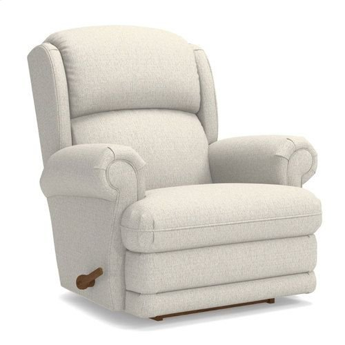 Kirkwood Rocking Recliner w/ Brass Nail Head Trim