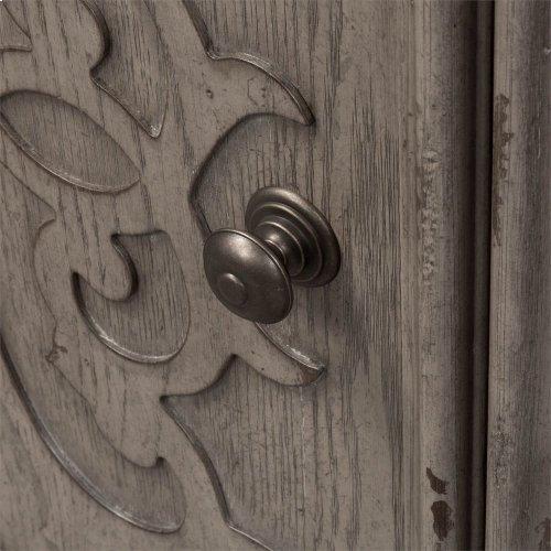 Door Bedside Chest w/ Charging Station