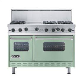 """Sage 48"""" Open Burner Range - VGIC (48"""" wide, six burners 12"""" wide griddle/simmer plate)"""