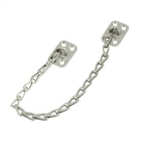 """Transom Chain 12"""" Long - Brushed Nickel"""