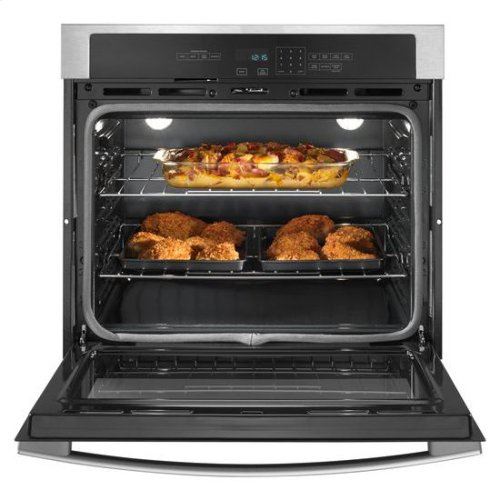 27-inch Wall Oven with 4.3 Cu. Ft. Capacity - white