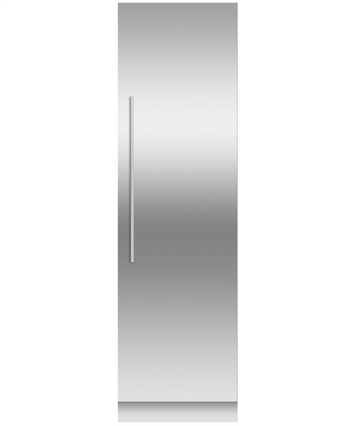 "Integrated Column Freezer 24"", Stainless Steel Interior"