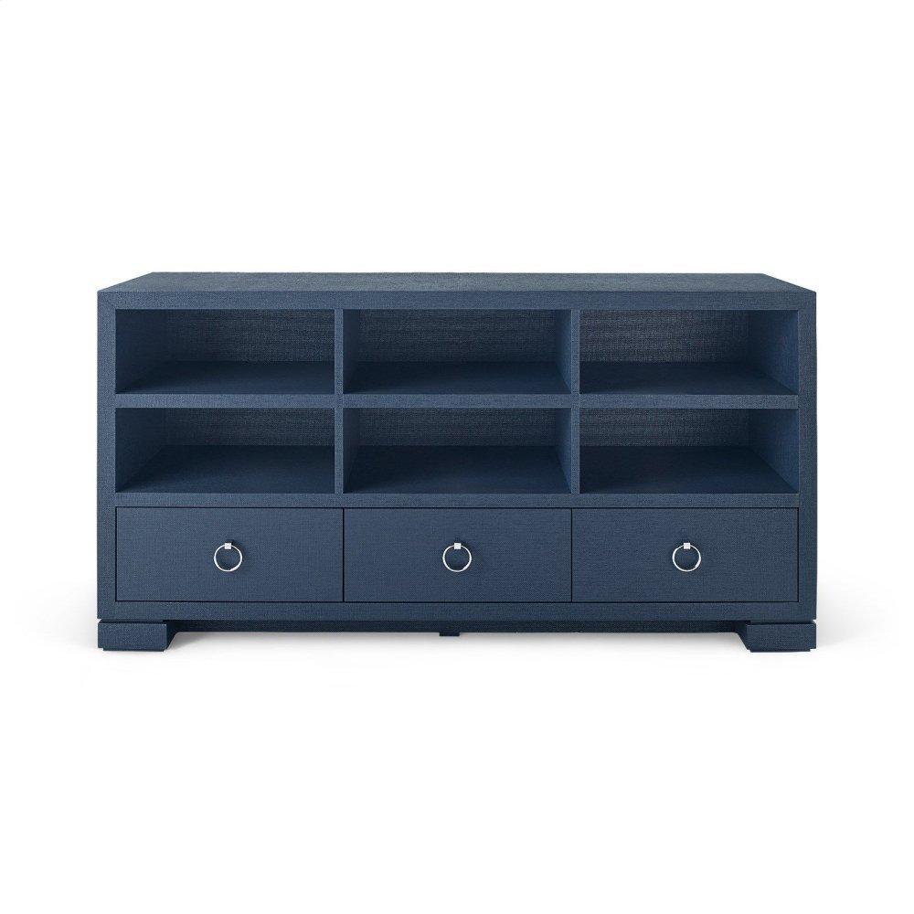 Franki A/V Cabinet, Navy Blue