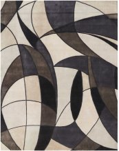 CHRISTOPHER GUY WOOL & SILK COLLECTION CGS18 MEDITERRANEAN SAND RECTANGLE RUG 8' x 10'