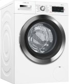 """24"""" Compact Washer, with Home Connect, WAW285H2UC, White/Chrome Product Image"""