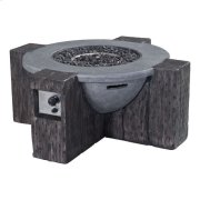 Hades Propane Fire Pit Gray Product Image