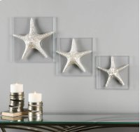 Silver Starfish, S/3 Product Image