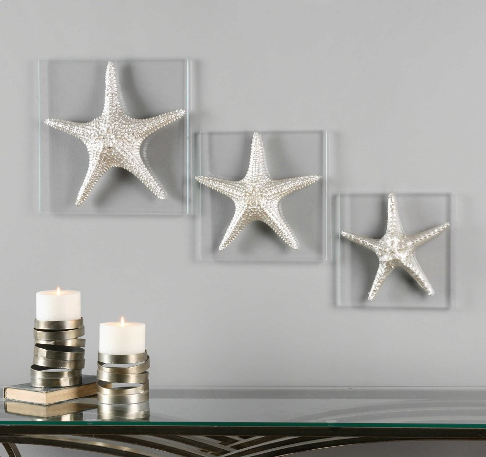 uttermost wall decor french silver starfish wall decor s3 01129 in by uttermost fort dodge ia decor