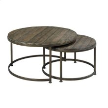 Leone Round Cocktail Table