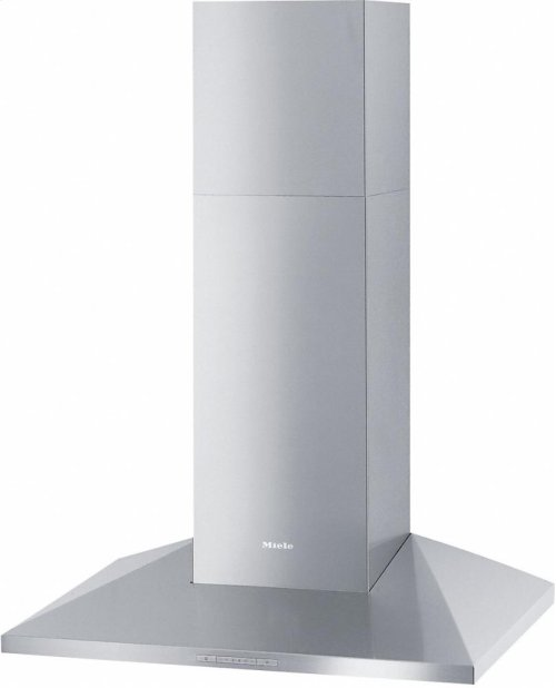 DA 398-7 Classic Wall ventilation hood with energy-efficient LED lighting and backlit controls for easy use.