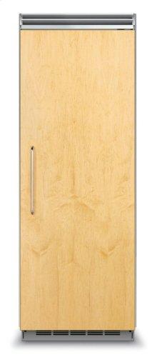 "30"" Custom Panel All Freezer, Right Hinge/Left Handle"