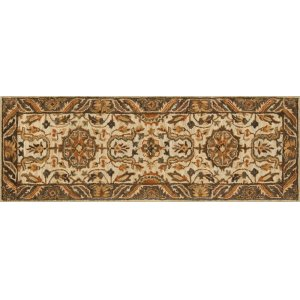 Ivory / Dk Taupe Rug