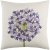 """Additional Agapanthus AP-004 22"""" x 22"""" Pillow Shell with Down Insert"""