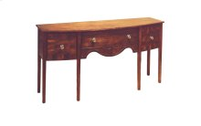 Bow-Front Sideboard