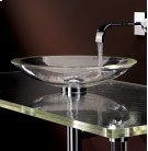 Freestanding ADA Large Round Glass Sink Product Image