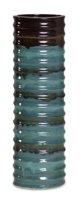 Large Aegean Ripple Vase