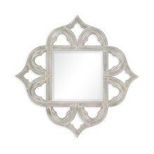Gilded Silver-Leaf Mirror