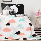 Night Garden Throw Pillows, 2- Pack - Pink and Black Product Image