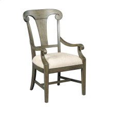 Fulton Splat Back Arm Chair