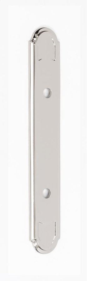 Classic Traditional Backplate A1569-35 - Polished Nickel