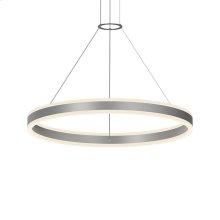 "Double Corona 32"" LED Ring Pendant"