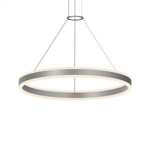 """Double Corona(tm) 32"""" LED Ring Pendant Product Image"""