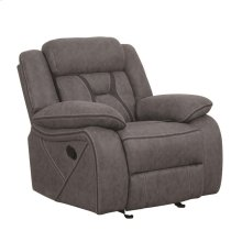 Houston Casual Stone Glider Recliner