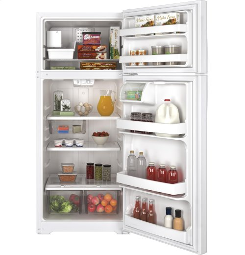 GE® ENERGY STAR® 17.5 Cu. Ft. Top-Freezer Refrigerator