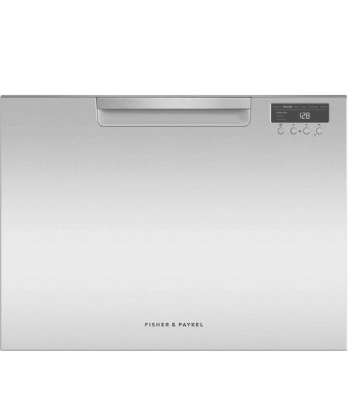Single DishDrawer , 7 Place Settings, Water Softener